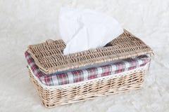 配件箱餐巾 免版税库存图片