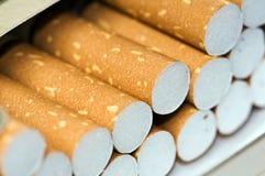 配件箱香烟 免版税库存图片