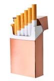 配件箱香烟 免版税图库摄影