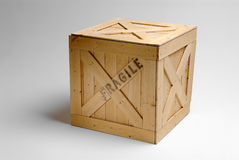 配件箱货物 库存图片