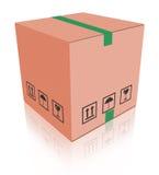 配件箱carboard程序包 向量例证