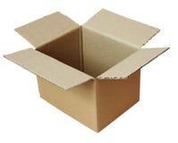 配件箱cardbord程序包 免版税库存照片