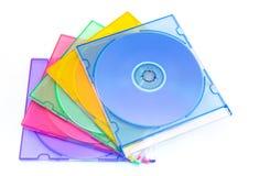配件箱cd 库存图片