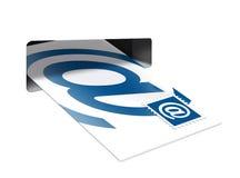 配件箱e邮件 库存照片