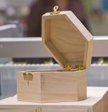 配件箱litle木头 库存图片