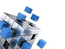 配合企业概念 库存例证