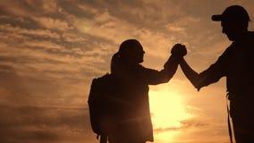 配合企业生活方式旅途概念胜利 r 影视素材