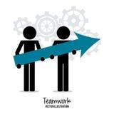 配合和业务设计 免版税库存照片