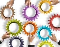 配合和综合化概念 免版税库存照片