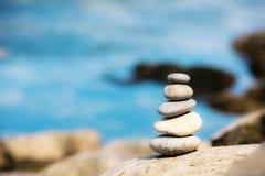 配合平衡概念 免版税库存照片