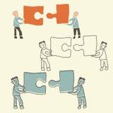 配合概念 免版税库存图片