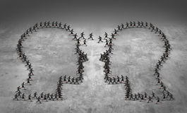 配合领导企业概念 图库摄影