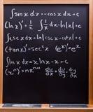 配方算术 库存照片