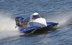 配方1 H2O快速汽艇GrandPrix 免版税库存照片