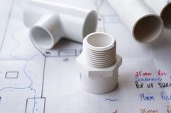 配管和灌溉 免版税库存照片