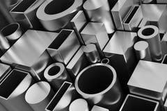 配置文件和管道 向量例证