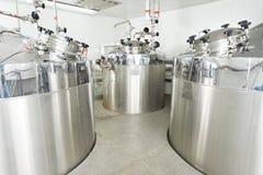 配药水处理系统 库存图片