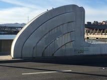 配重的盖子吊桥的 免版税图库摄影
