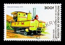 配音&公司, 1873,老机车serie,大约1996年 图库摄影