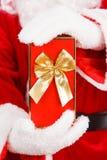 配件箱克劳斯礼品圣诞老人 免版税图库摄影