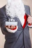 配件箱克劳斯礼品圣诞老人 库存图片