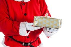 配件箱克劳斯礼品藏品例证圣诞老人向量 免版税库存图片