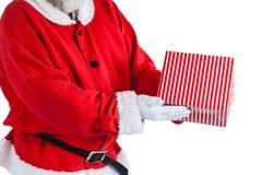 配件箱克劳斯礼品藏品例证圣诞老人向量 免版税图库摄影