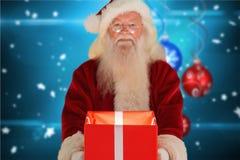 配件箱克劳斯礼品藏品例证圣诞老人向量 库存照片
