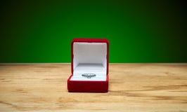 配件箱敲响婚礼 库存例证