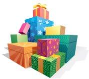 配件箱检查礼品图象类似我的投资组合 免版税库存照片