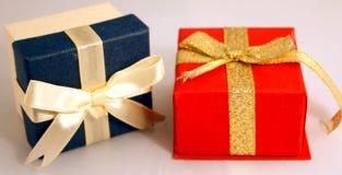 配件箱检查礼品图象类似我的投资组合 库存照片