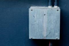 配件箱电子连接点 免版税图库摄影