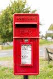 配件箱皇家邮件的过帐 免版税库存照片