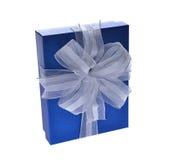 配件箱礼品查出的白色 免版税库存照片
