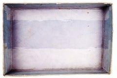 配件箱纸盒顶视图 免版税库存图片