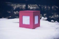 配件箱装饰礼品 免版税库存照片
