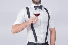 酒人 免版税库存图片