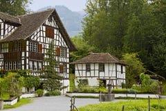 酒从Richterswil的种植者的房子 免版税库存图片