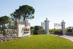 酒加州Maiol的生产 库存图片