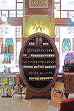 酒吧在旅馆Palatinus里在佩奇匈牙利 免版税库存图片
