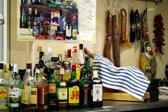 酒吧在马德里 图库摄影