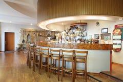 酒吧柜台和博物馆在Ochakovo工厂 库存照片