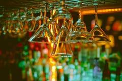 酒吧柜台 库存照片