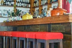 酒吧柜台 免版税库存照片