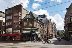 酒吧正规兵和杰克,阿姆斯特丹 库存照片