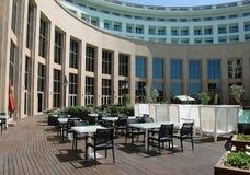 酒吧看法在豪华土耳其旅馆里 免版税库存照片