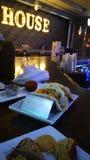 酒吧食物 图库摄影