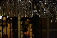 酒吧玻璃 图库摄影