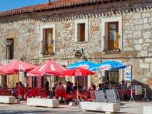 酒吧Marcela -圣胡安de奥尔特加 图库摄影