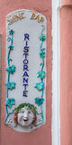 酒吧Ristorante 库存照片